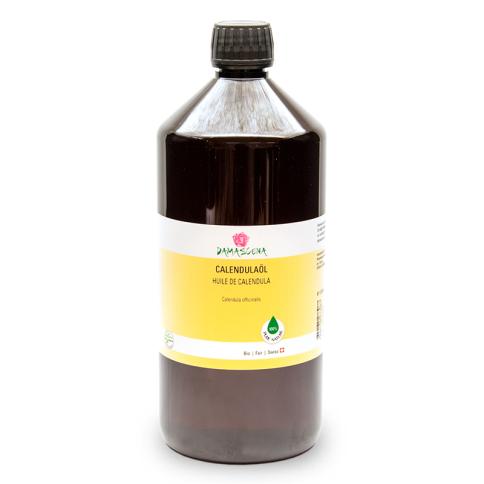 Calendulaöl BIO 1000ml - Pflege- und Basisöl