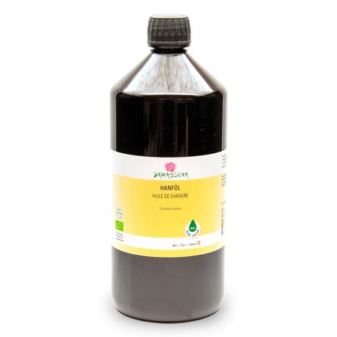 Hanföl BIO 1000ml - Pflege- und Basisöl