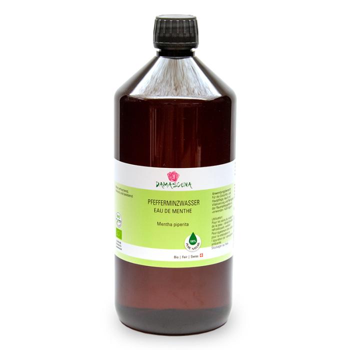 Pfefferminzwasser BIO 1000ml - Pflanzenwasser | Hydrolat